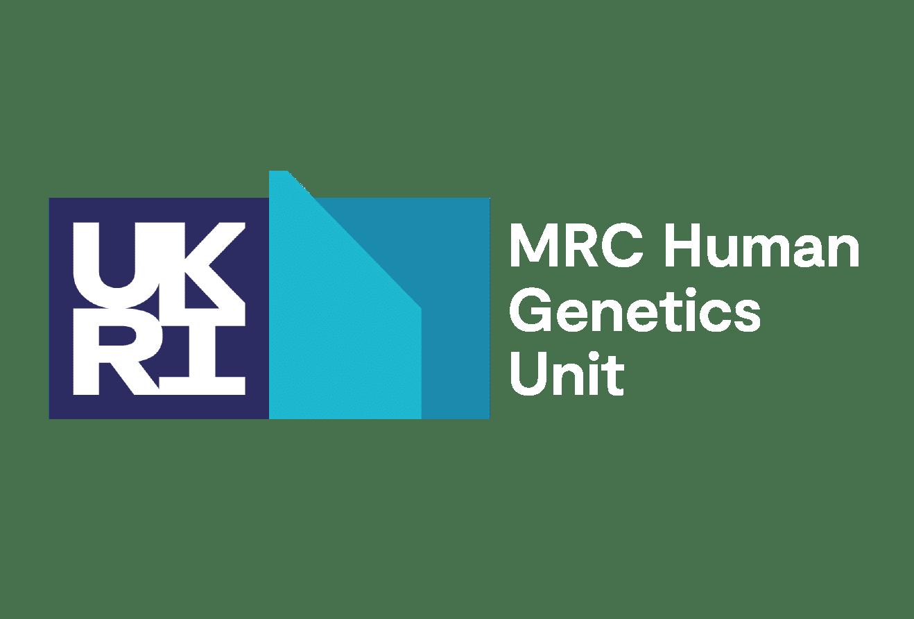 UKRI MRC Human Genetics Unit logo