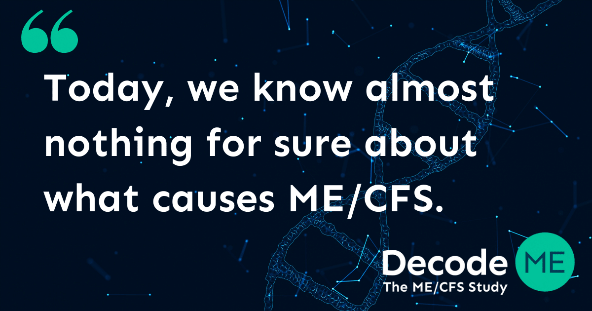 Why we need a ME/CFS research study like this